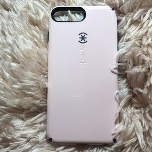 Pink and Black iPhone 7/8+ Speck Case